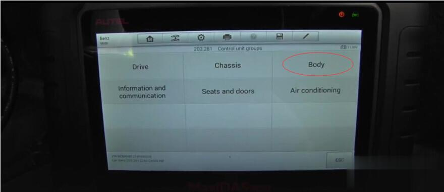 How to use Autel MaxiDAS DS808 diagnose Mercedes-Benz successfully-19 (2)