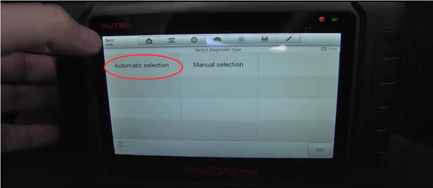 How to use Autel MaxiDAS DS808 diagnose Mercedes-Benz successfully-8 (2)