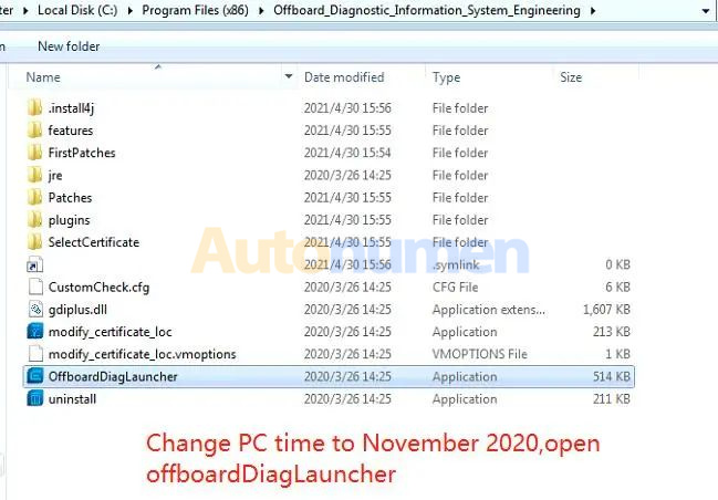 How to Installation ODIS Engineering 12.1-12