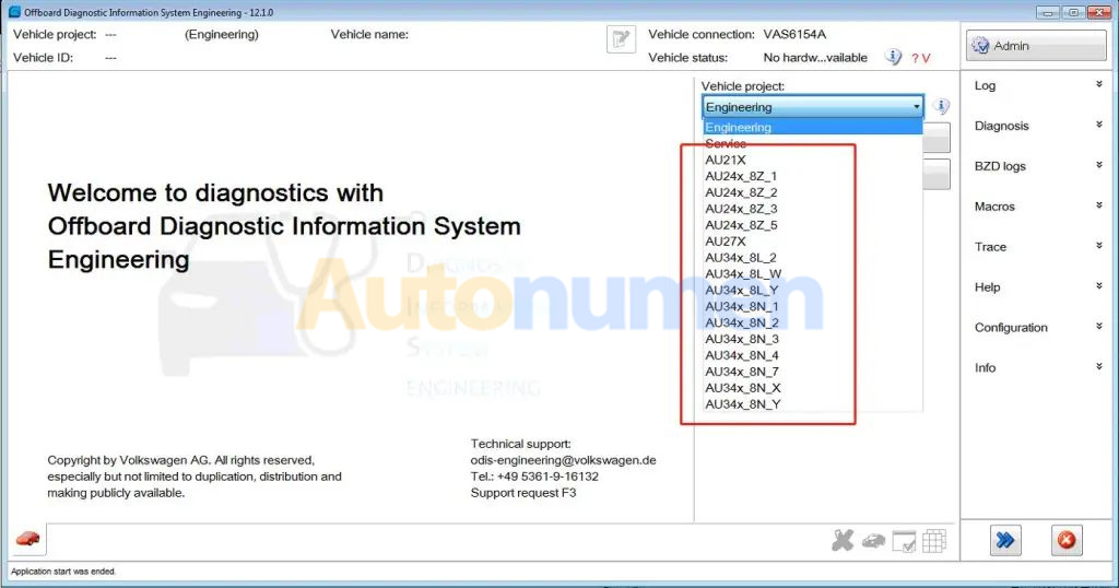 How to Installation ODIS Engineering 12.1-18