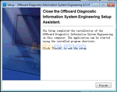 How to Installation ODIS Engineering 12.1-9